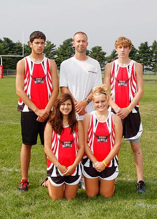 SN Cross Country Team 2009