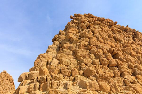 Pyramiden der kuschitischen Könige Karkamani (510 v. Chr., Nu 7) - Nuri, Sudan