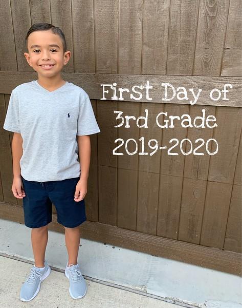 Anthony | 3rd grade | Reagan Elementary School