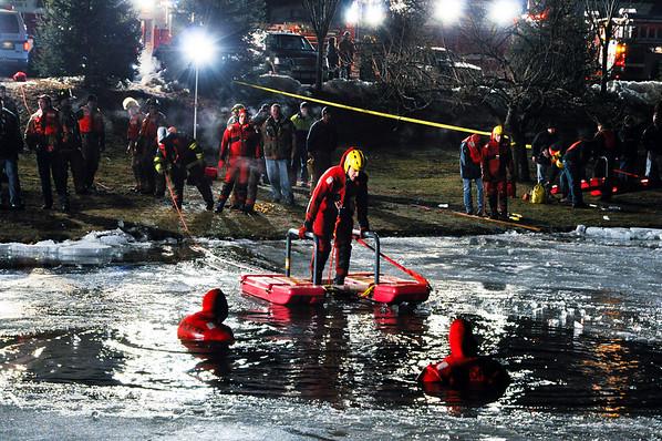 1-18-10 Wyckoff - Ice Rescue Drill