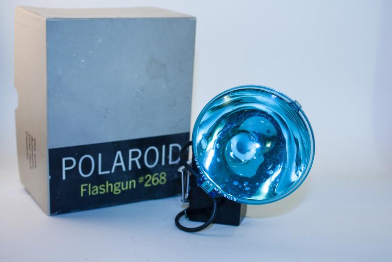 Polaroid Flashgun #268 Polaroid Flashgun, still boxed.