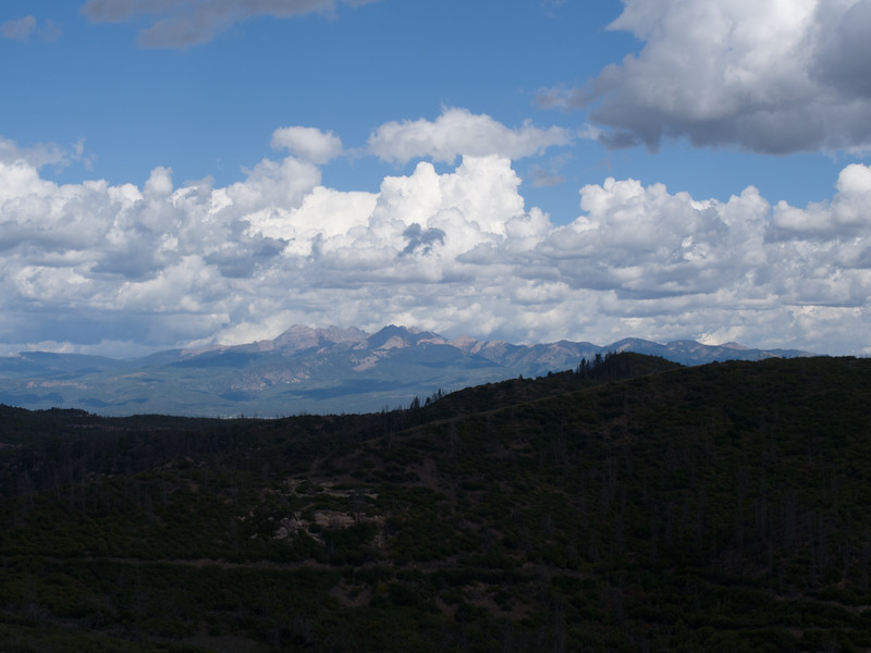 looking towards Durango