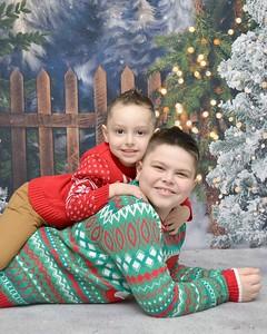 Aiden & Arian Christmas 2020