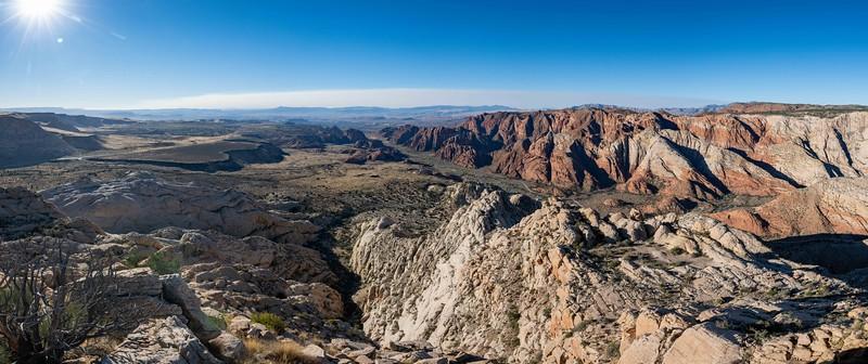 Snow Canyon White Mountain backside