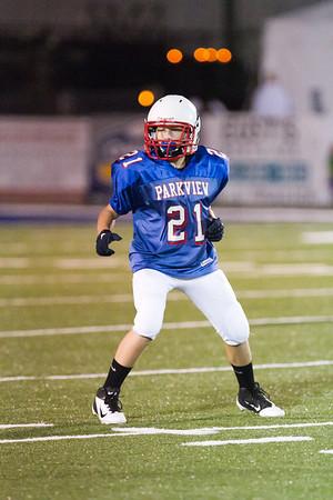 PBS 8th Grade Football 092711