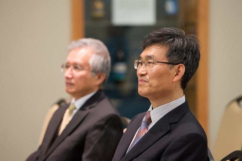 Mr. Heonsoo Kim, Principal of Sejong Academy.