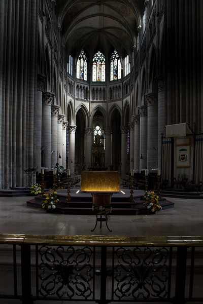 Rouen, Notre-Dame Cathedral Choir