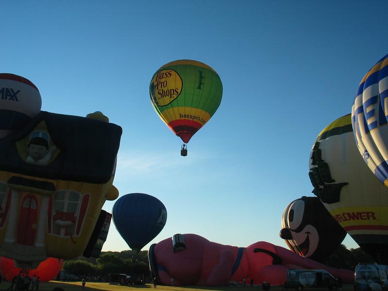 Bass Pro Shop Balloon