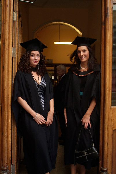 Stefania Volante, Cherrymount, Waterford and Emmanuelle Le Borgne, Dunmore East, Co. Waterford, pictured as they graduated with BA (Hons) in Languages and Marketing at Waterford Institute of Technology.