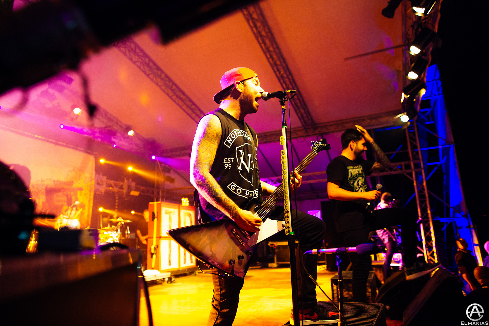 A Day To Remember live in Italy by Adam Elmakias