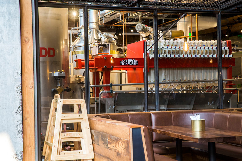 Redhook Brew Lab in Capitol Hill, Seattle