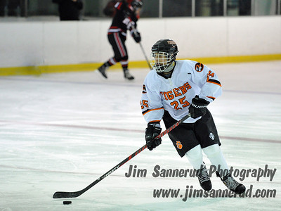 White Plains High School Tigers vs. Rye Garnets Varsity Ice Hockey at Ebersole Ice Rink