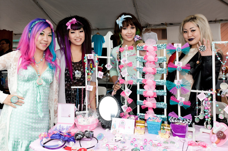 Accessories for sale at the 2011 J-POP Summit Festival