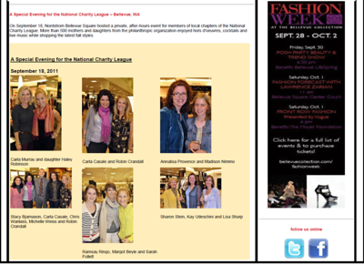 2011 Nordstrom Event coverage
