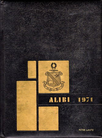 Alibi 1971 Albert College Yearbook