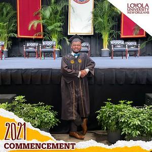 Commencement 2021 @ Loyola University Virtual