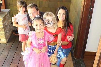 Addison Belice 5th Birthday Halloween Party