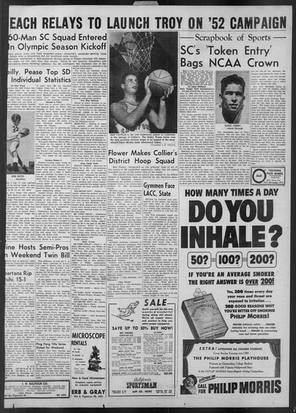 Daily Trojan, Vol. 43, No. 91, March 07, 1952