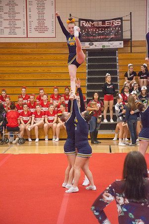 Webberville Varsity Competitive Cheer