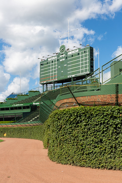 The Famous Ivy-Covered Brick Outfield Wall