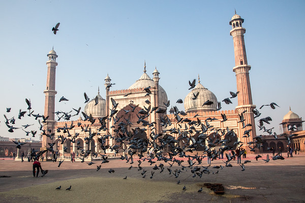 Jama Masjid - Delhi, India - December, 2015