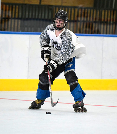 7/13/2019 Mike Orazzi | Staff Pisa Roller Hockey's Jake Albert (61) during the Nutmeg State Games in the Koeppel Community Sports Center on Saturday.