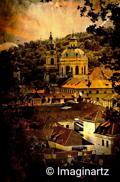 A Snippet of Prague, Czech Republic