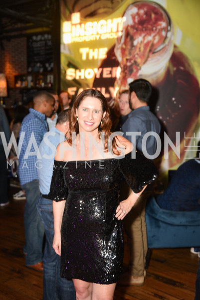 Paula Shoyer,  Hope for Henry, 15th Anniversary Extravaganza, ' Sparkles and Sneakers', City Winery in Ivy City. October 20, 2018, photo by Ben Droz.