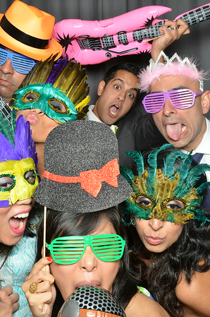 Sara & Neel's Photo Booth Images