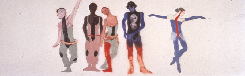 Costume Design for 'The Dance House' (1995)