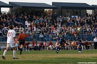 UC Davis Men's Soccer vs Denver University 11/22/2008