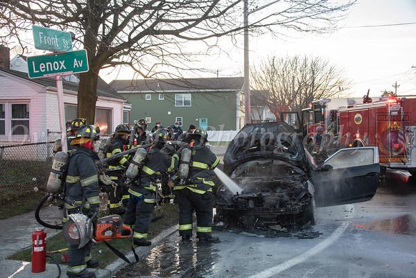 Uniondale Car Fire 12/27/2020