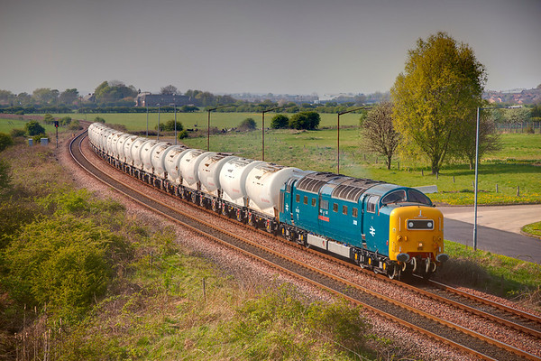 Royal Scots Grey on the Alcans 19th April 2011