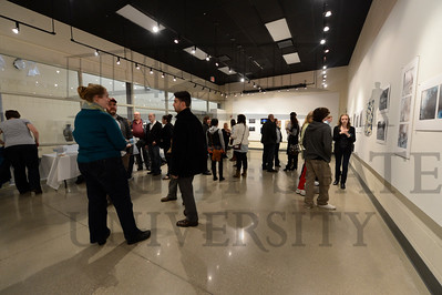 10910 Wright State and  University of Dayton Photo Exhibit at Stivers 3-22-13