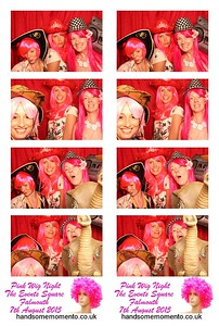 Pink Wig Night 2015, The Events Square Falmouth 07-08-15