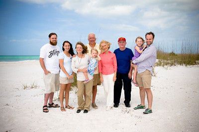 Barnetts on the Beach!