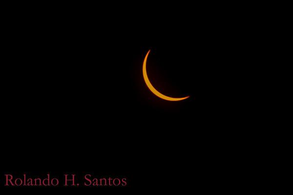 2017 Solar Eclipse Aurora water marked