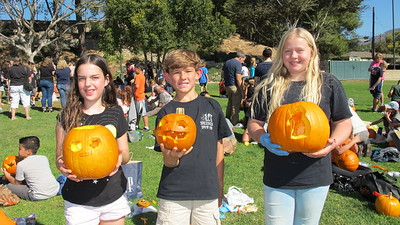 LCE Students Become Master Pumpkin Carvers