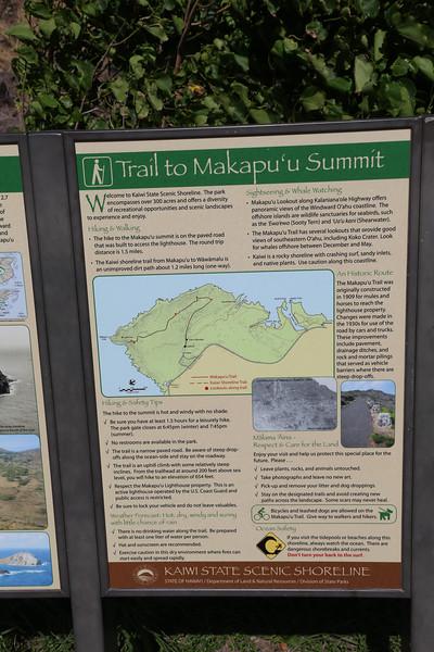 Hawaii Makapu'u Summit