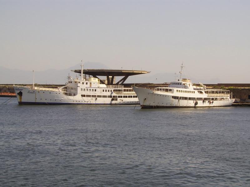 2007 - F/B PATRIZIA and SANTA LUCIA L laid up in Napoli.