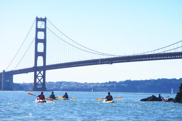 Sausalito Kayaking: Feb 3, 2018