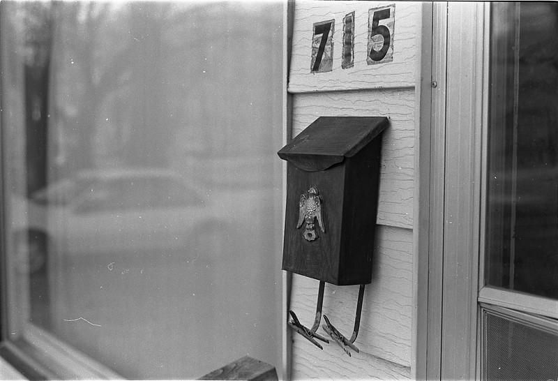 The Wet Mailbox