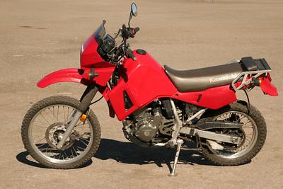 KLR650- motorcycle