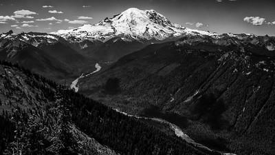 Mt Baker and Mount Rainier