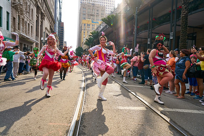 Krewe Of Jingle - 2018 with the Pussyfooters