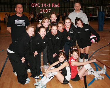 OVC 14-1 Red 2007 Team