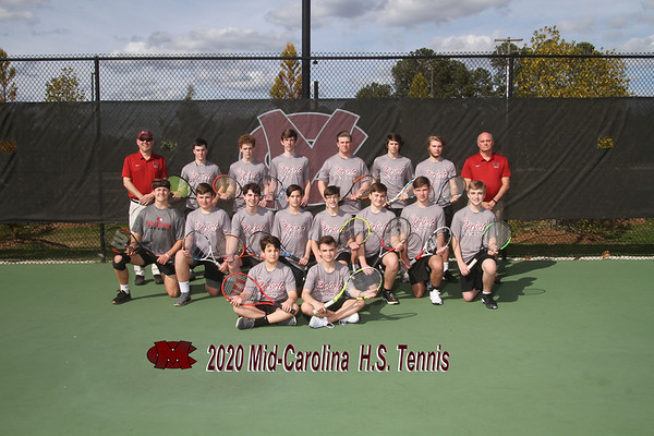 2020 boys Tennis