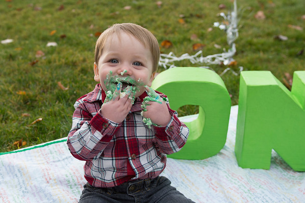 Joey turns one! And family photos too