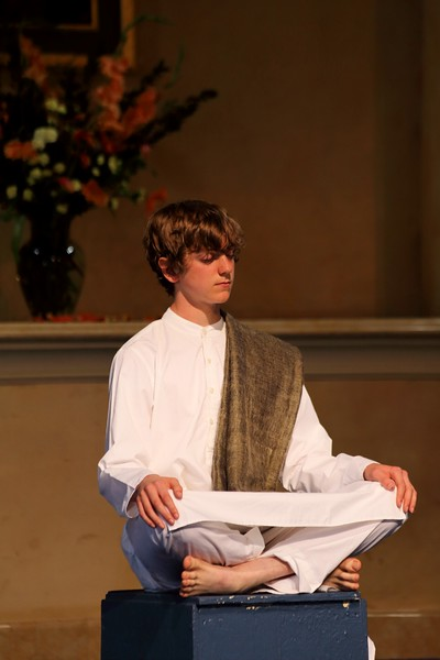 Devin plays Master Mahasaya, who interceded with the Divine Mother for Yogananda who longed for her blessing.