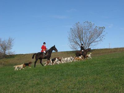 North Hills Hunt / Opening Hunt @ Kennels / 10-26-2008